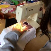 making clothes, kids sewing, teen sewing, creative sewing, sewing classes Stroud, sewing in Gloucestershire, weekly classes, ongoing group, private sewing classes, textiles, making clothes, pattern cutting,